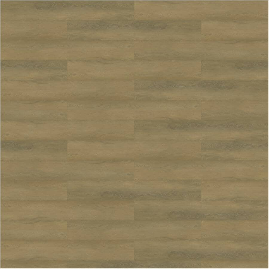 """TAIGA BUILDING PRODUCTS:Curate Collection 9"""" x 60"""" SPC Plank Flooring - Oak Natural, 22.54 sq. ft."""