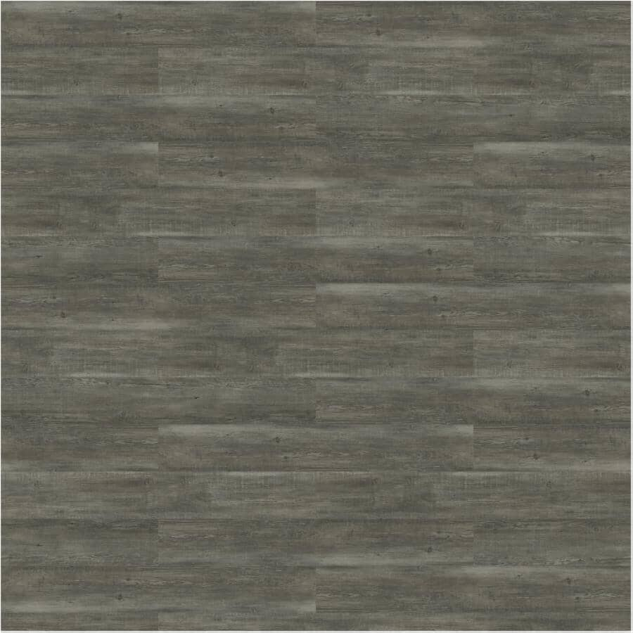 """TAIGA BUILDING PRODUCTS:Curate Collection 9"""" x 60"""" SPC Plank Flooring - Salvage, 22.54 sq. ft."""