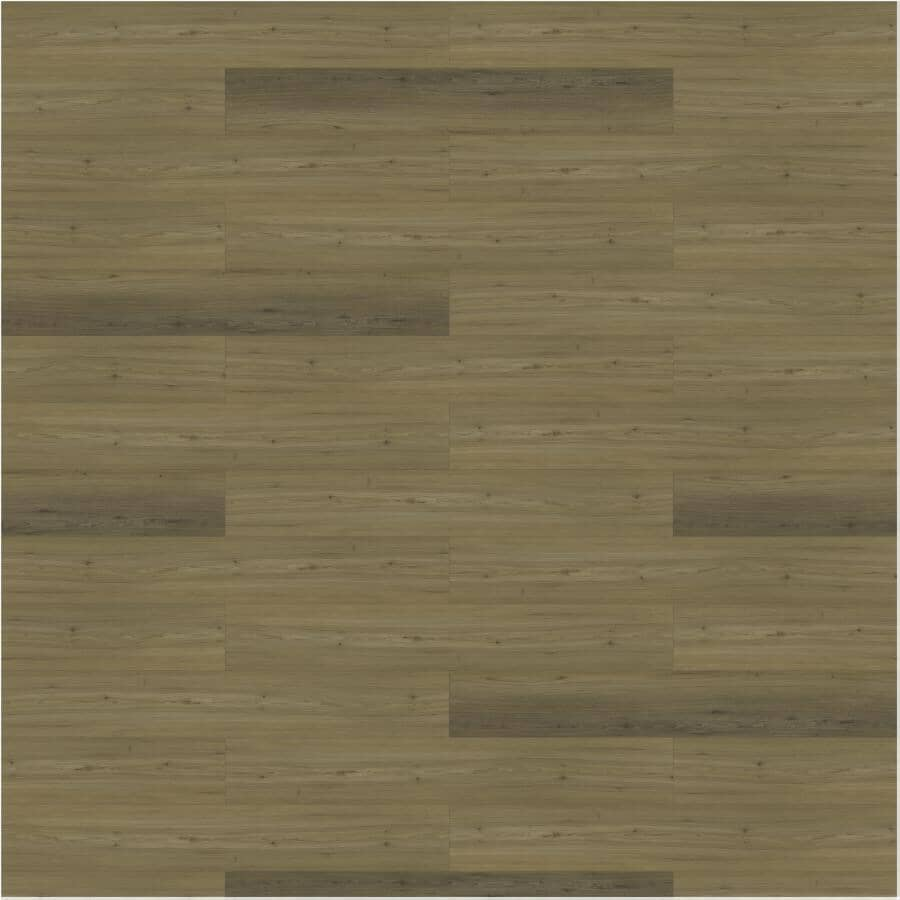 """TAIGA BUILDING PRODUCTS:Curate Collection 9"""" x 60"""" SPC Plank Flooring - Toulouse, 22.54 sq. ft."""