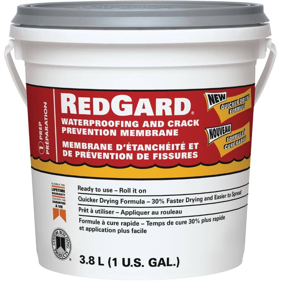 REDGARD:3.8L Waterproofing and Crack Prevention Membrane