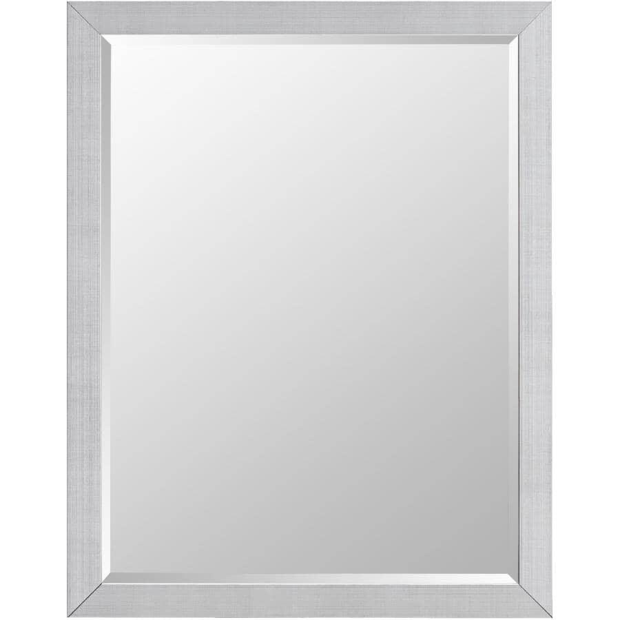 "ERIAS HOME DESIGNS:22"" x 28"" Tucson Wall Mirror, with Chrome Frame"