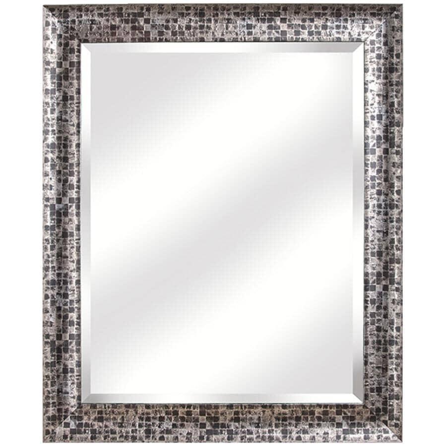 """ERIAS HOME DESIGNS:28"""" x 34"""" Mosaic Wall Mirror"""