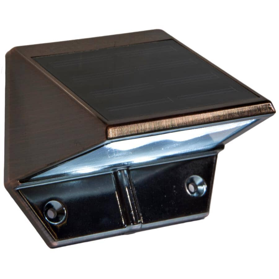 CLASSY CAPS:Solar Copper Wedge Light