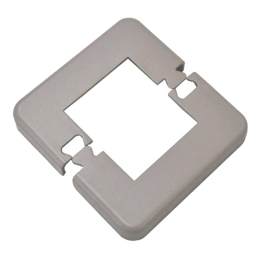 """REGAL IDEAS:Taupe Base Plate Cover, for 2-1/4"""" Post"""