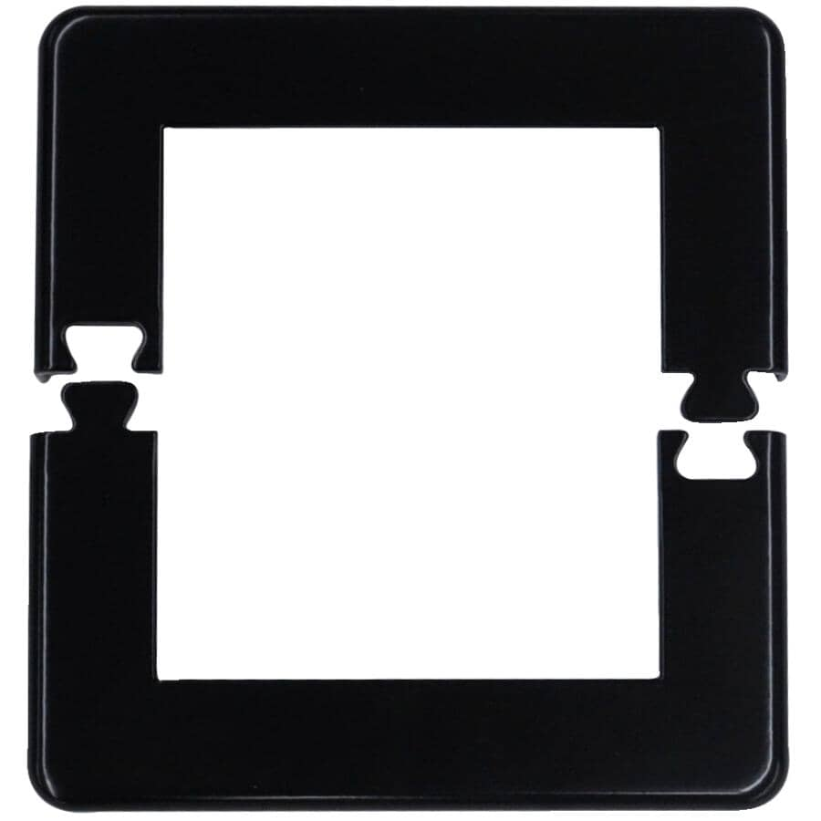 """REGAL IDEAS:Black Base Plate Cover, for 4"""" Post"""