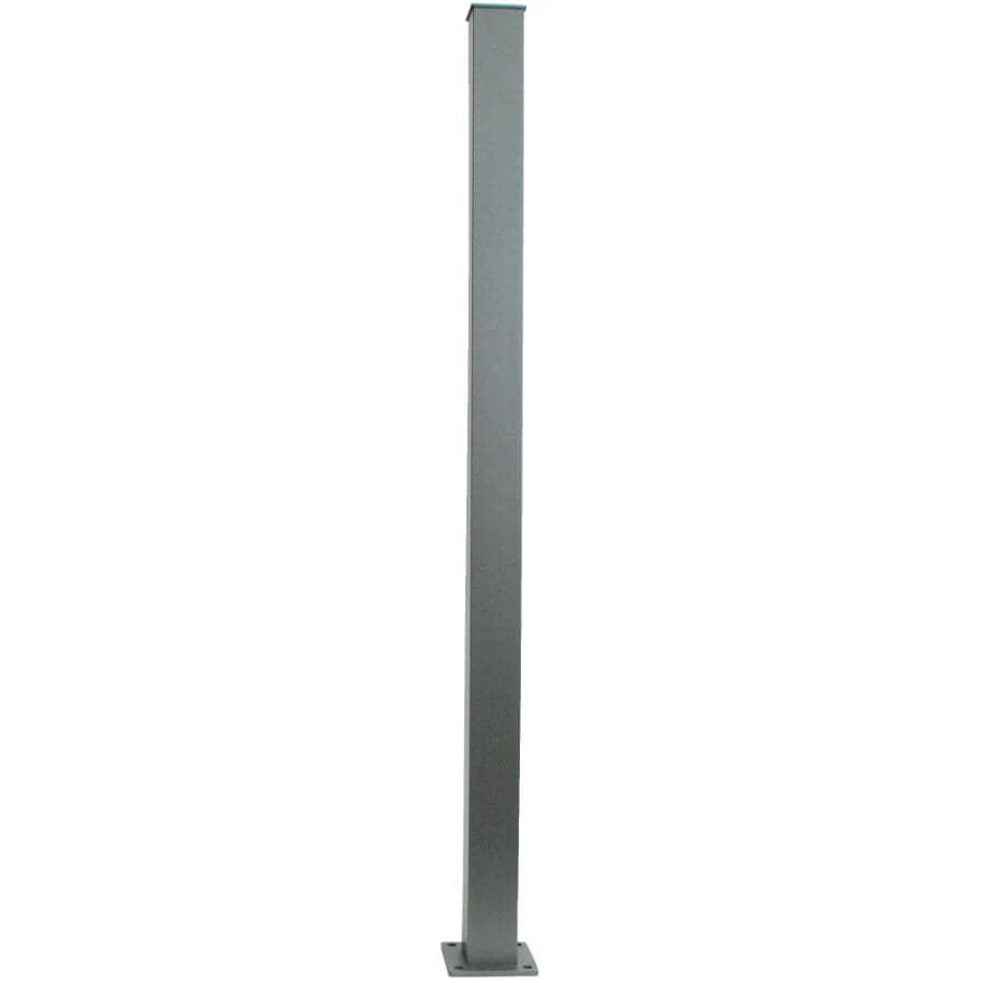 REGAL IDEAS:Titanium Slate Aluminum Railing Stair Post