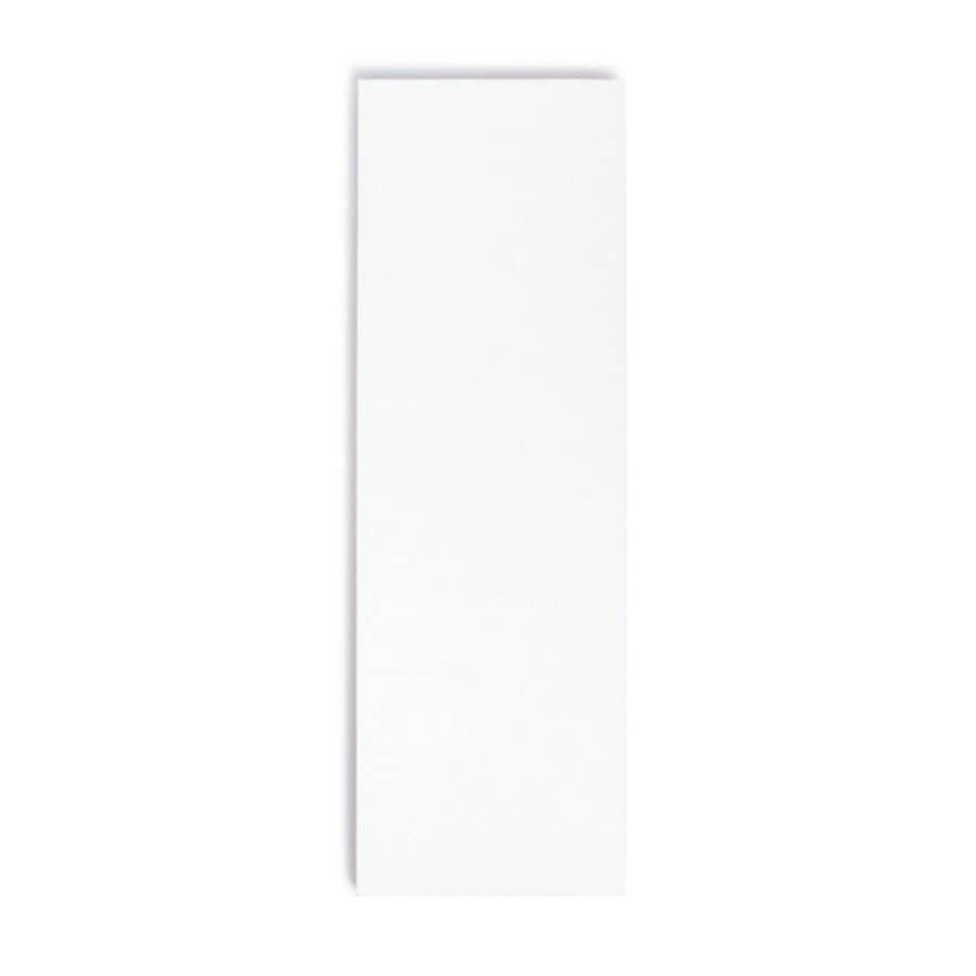 KNAPE & VOGT:Tablette stratifiée de 10 po x 48 po, blanc