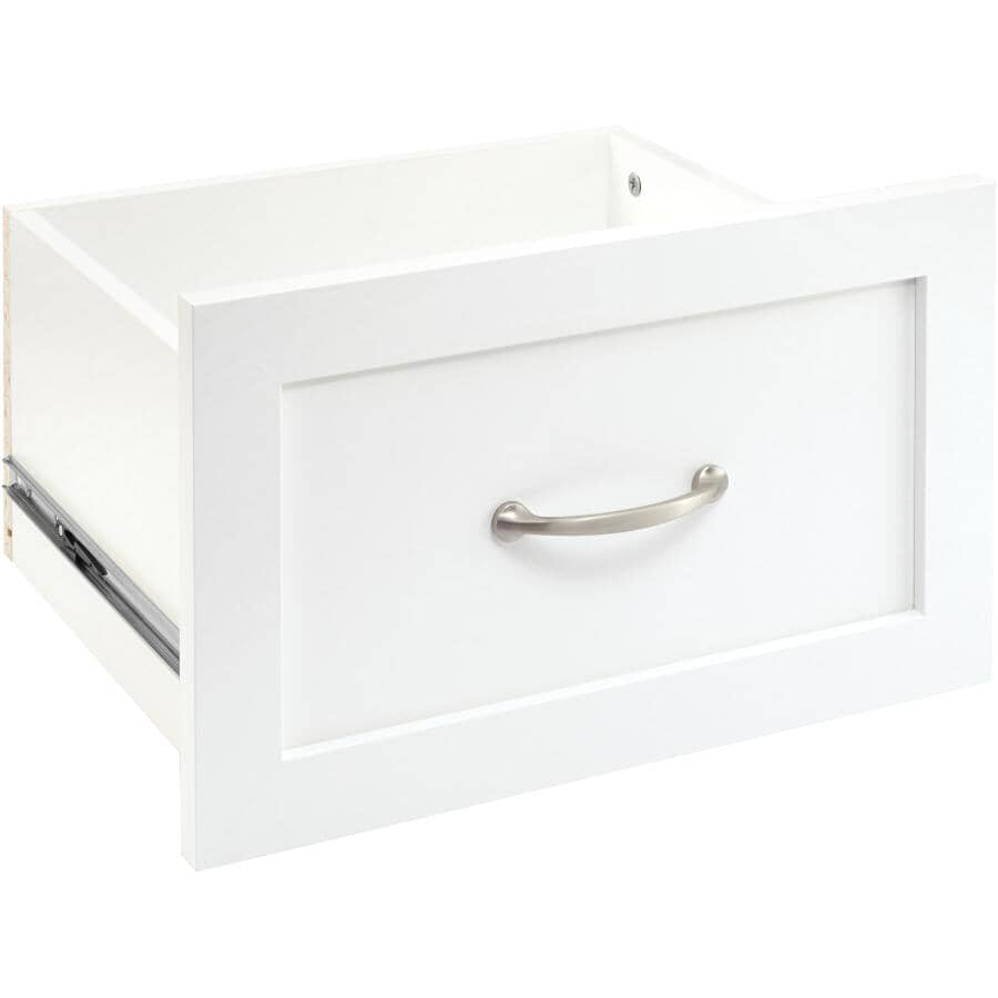 "CLOSETMAID:16"" x 10"" Pure White 1 Drawer Suite Symphony Storage Organizer"