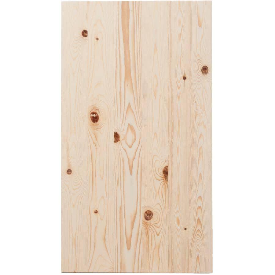 "HOME BUILDER:3/4"" x 20"" x 48"" Laminated Pine Panel"