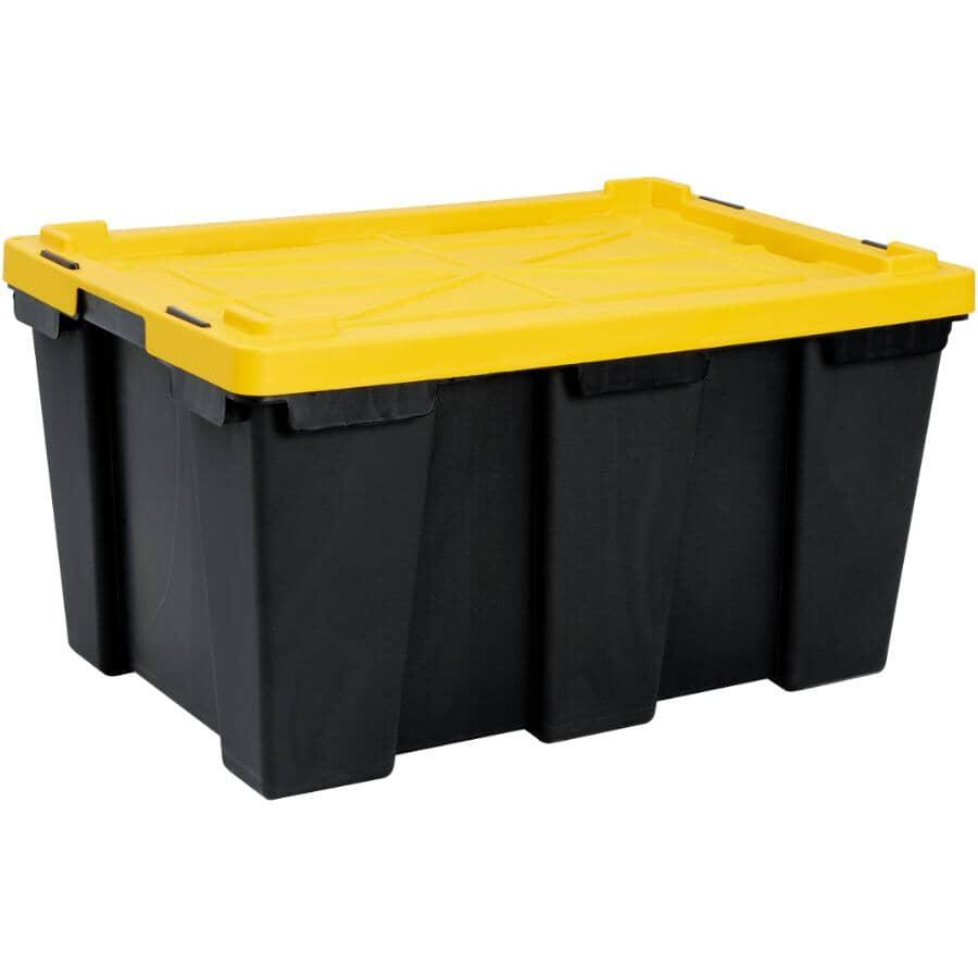 GRACIOUS LIVING:104L Black Contractor Storage Box
