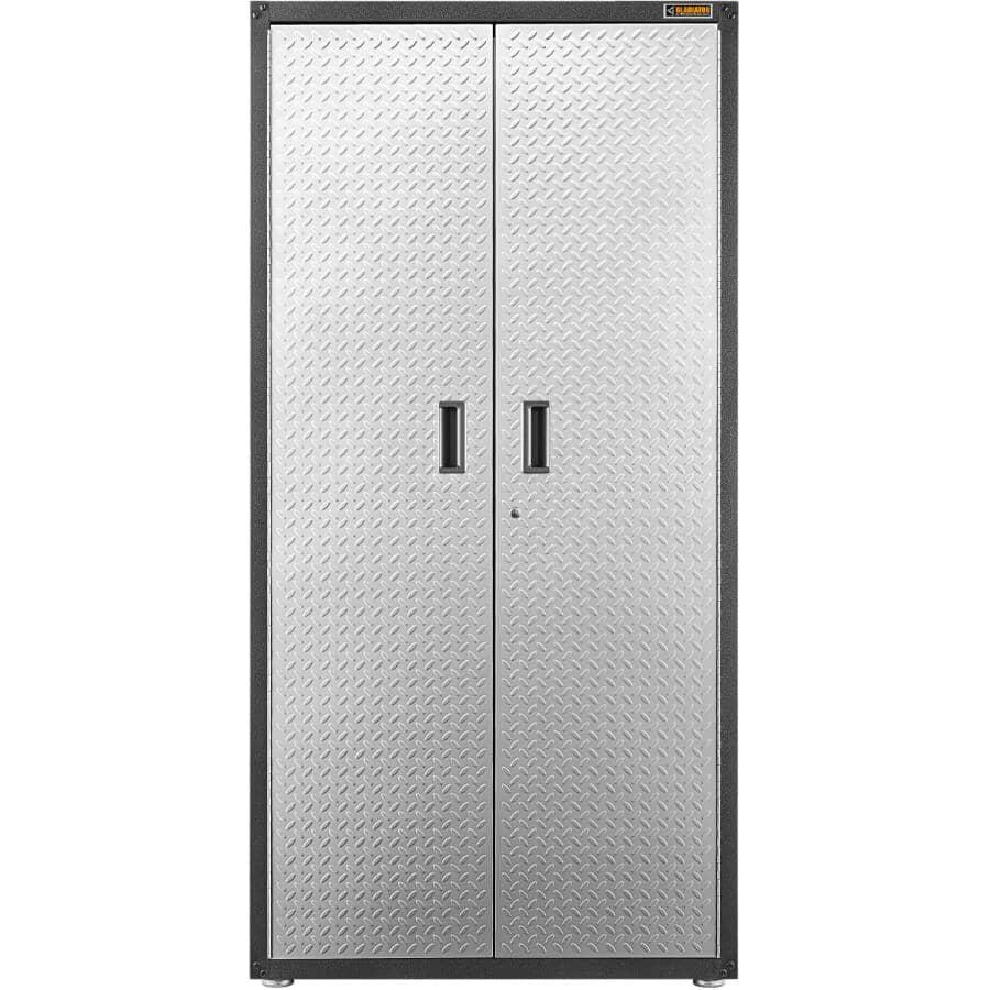 GLADIATOR GARAGEWORKS:Armoire haute à 2 portes GearBox prête-à-assembler de 36 po