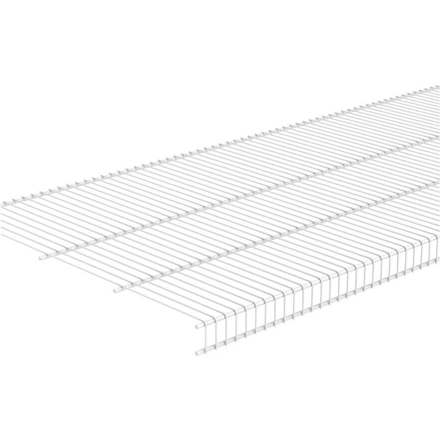 "CLOSETMAID:20"" x 6' White Wire Close Mesh Shelf"