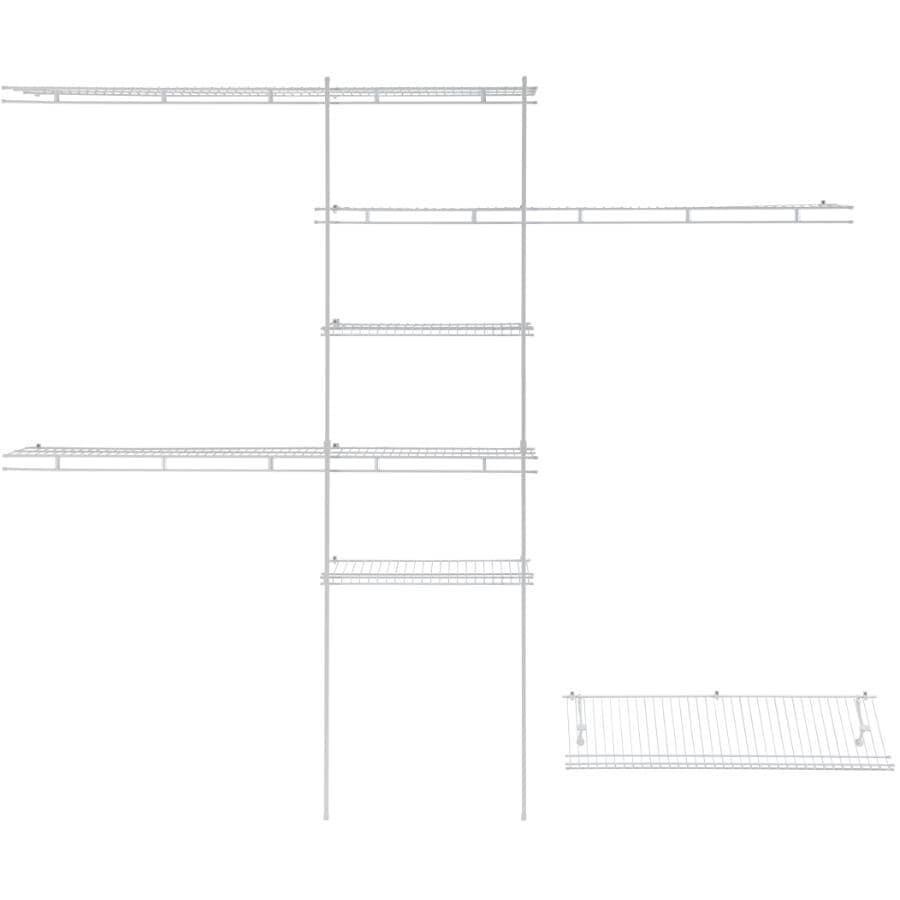CLOSETMAID:5' - 8' Deluxe Closet Organizer