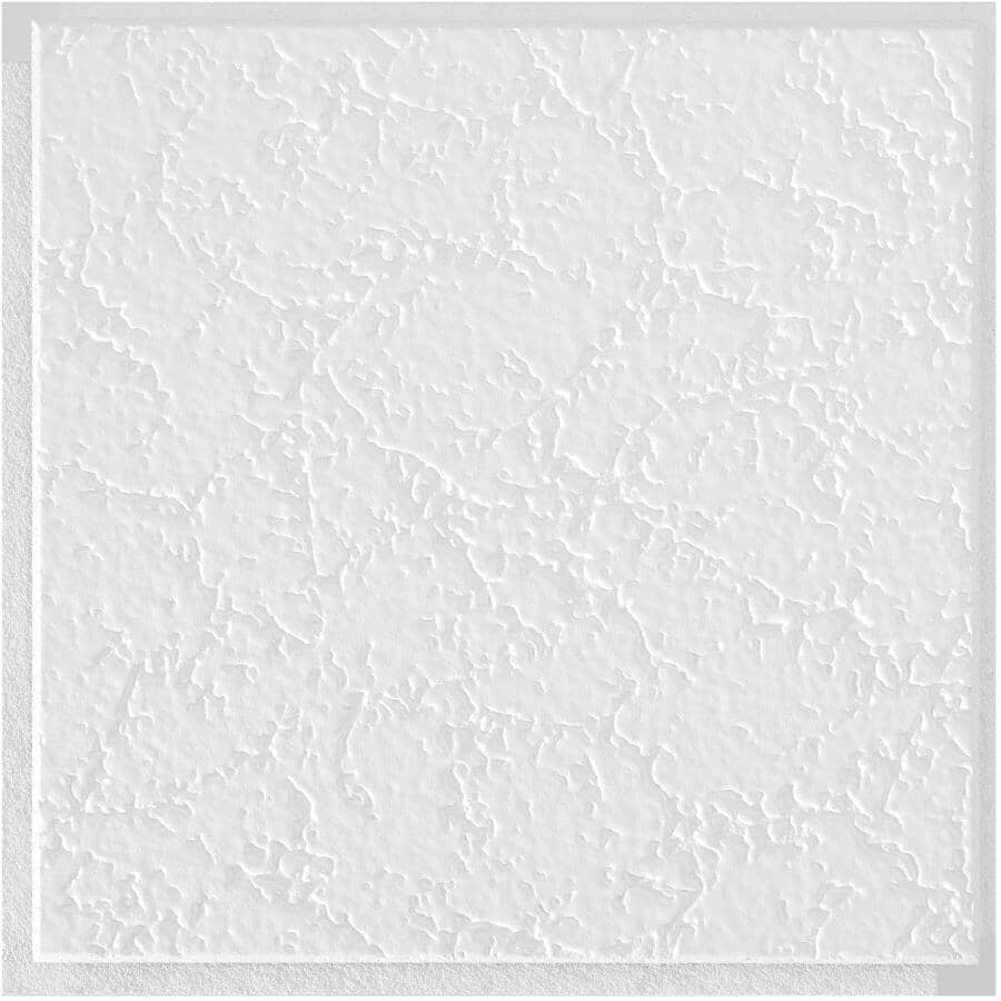 """ARMSTRONG CEILINGS:12"""" x 12"""" x 1/2"""" Grenoble Mineral Fibre Ceiling Panel"""