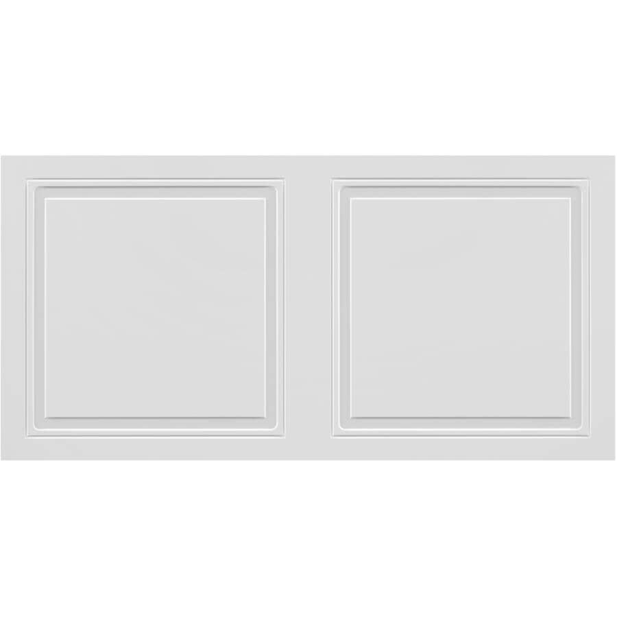 """MURDESIGN:24"""" x 48"""" Desert White Ceiling Panels - 4 Pack"""