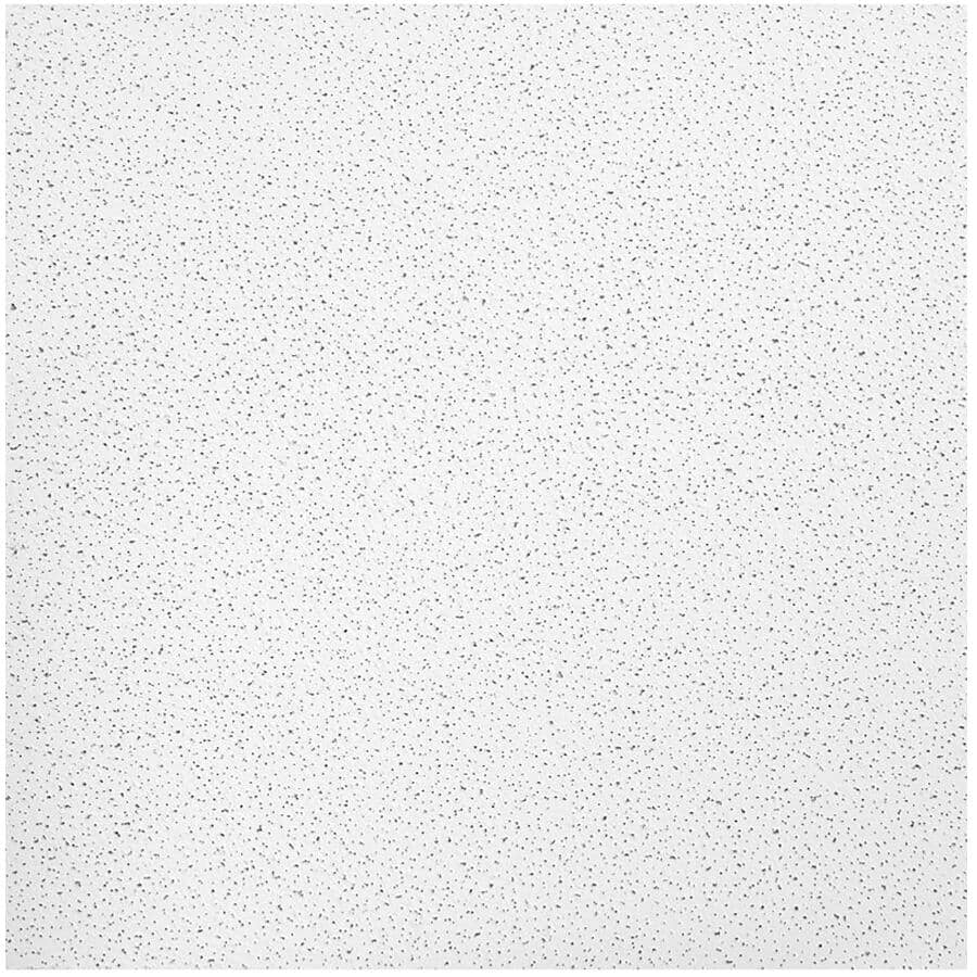 ARMSTRONG CEILINGS:Fine Fissured Mineral Fibre Ceiling Panels - 2' x 2', 16 Pack