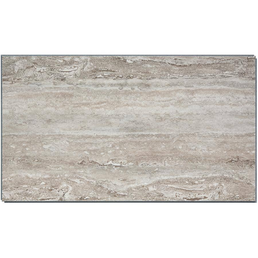 """ACOUSTIC CEILING PRODUCTS:Palisade Collection 25.59"""" x 14.78"""" Vinyl Interlocking Wall Tiles - Grecian Earth, 21 sq. ft."""