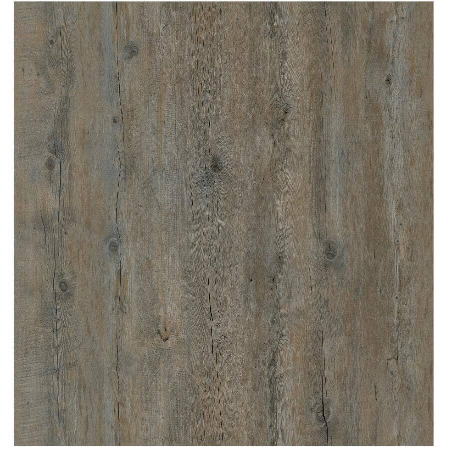 "GOODFELLOW:Rocky Mountain 7"" x 48"" Loose Lay Luxury Vinyl Plank Flooring - Fortress 23.34 sq. ft."