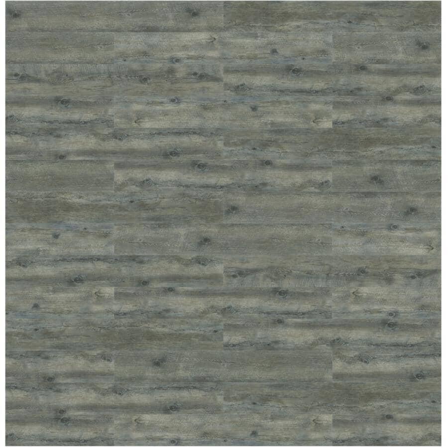 "TAIGA BUILDING PRODUCTS:SierraWork 7"" x 48"" Full Spread Gluedown Luxury Vinyl Plank Flooring - Matterhorn, 42 sq. ft."