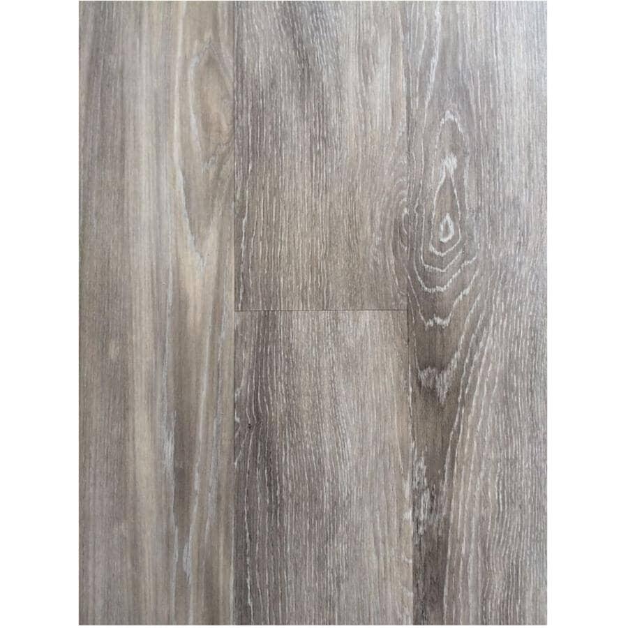 "SHNIER:Passport Collection 7.56"" x 48.43"" Loose Lay Vinyl Plank Flooring - Morning Mist, 30.49 sq. ft."