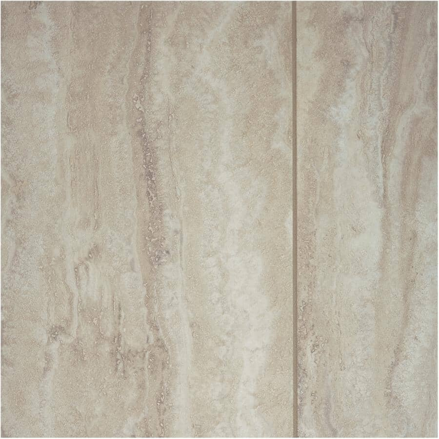 """SHNIER:Stone Trends Collection 12"""" x 24"""" Loose Lay Vinyl Tile Flooring - Mila, 24 sq. ft."""