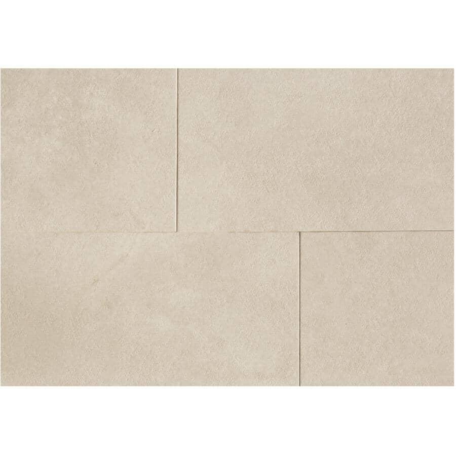 "SHNIER:Stone Trends Collection 12"" x 24"" Loose Lay Vinyl Tile Flooring - Nassau, 24 sq. ft."