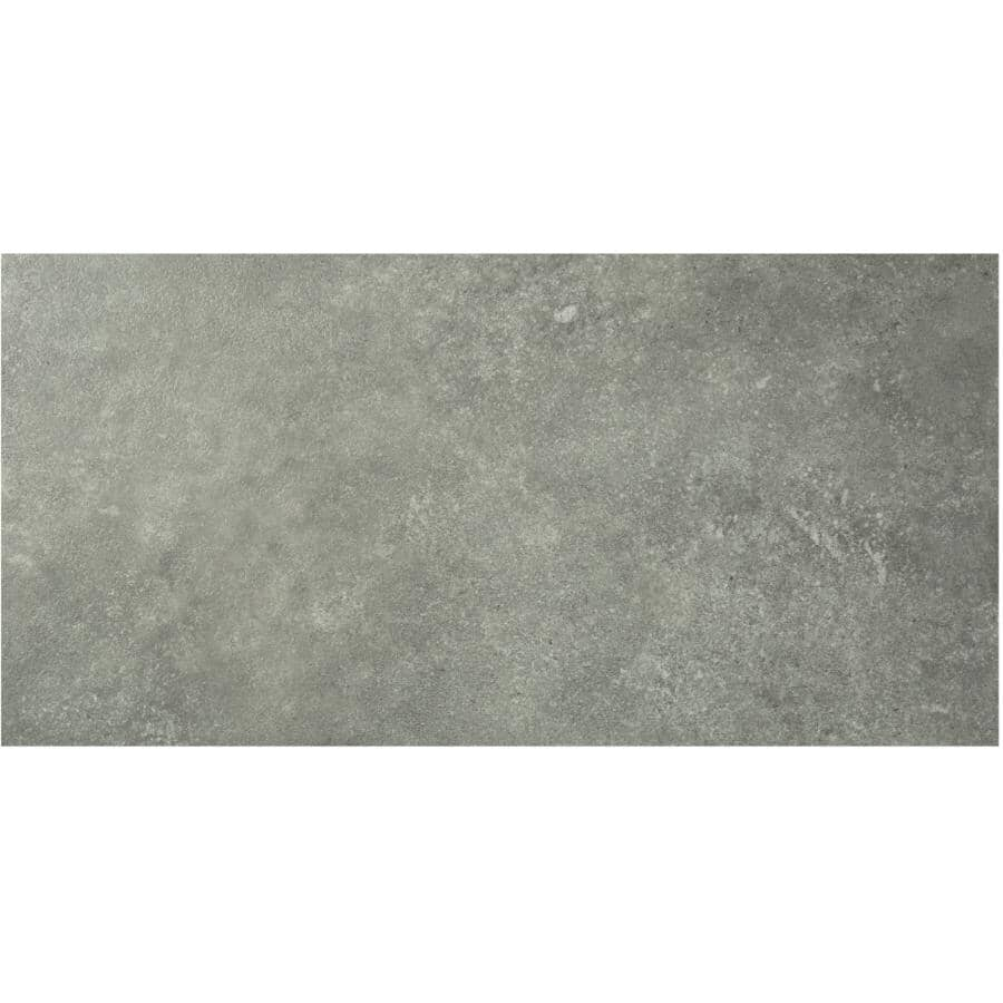 """SHNIER:Stone Trends Collection 12"""" x 24"""" Loose Lay Vinyl Tile Flooring - Willowdale, 24 sq. ft."""