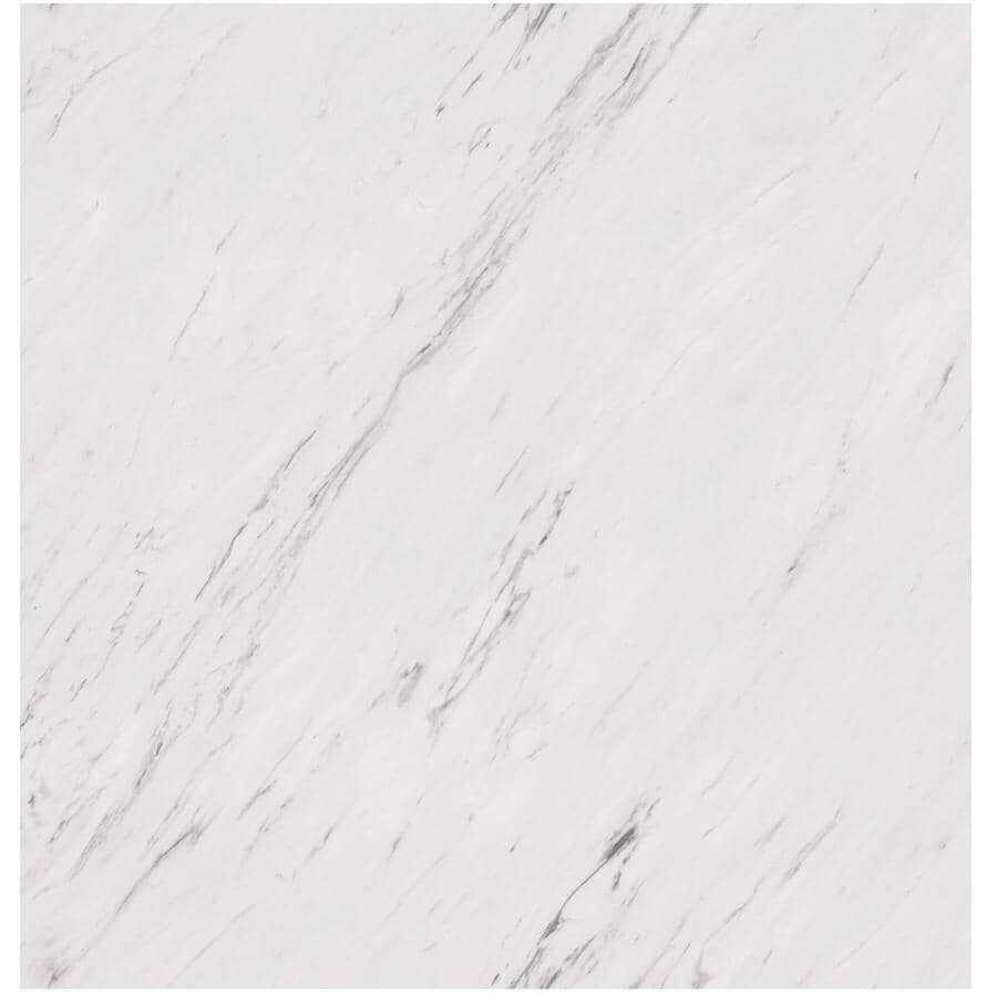 """TAIGA BUILDING PRODUCTS:Easy Way Collection 12"""" x 24"""" Loose Lay Vinyl Tile Flooring - Venato Marble, 20 sq. ft."""
