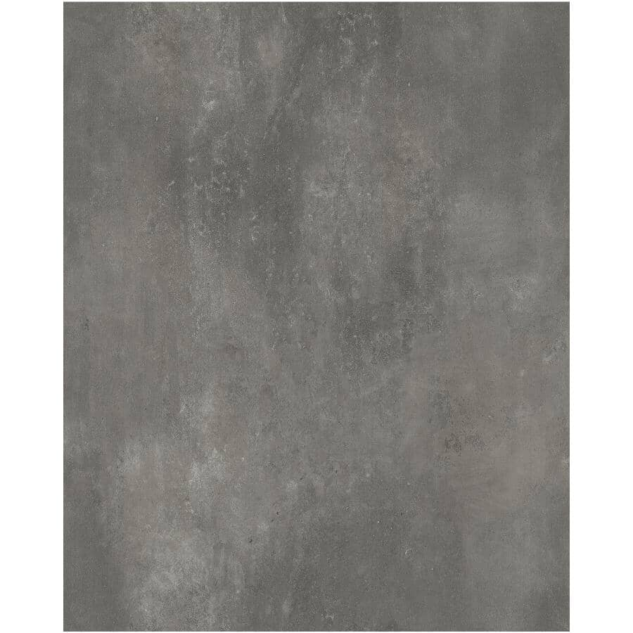 """TAIGA BUILDING PRODUCTS:Easy Way Collection 12"""" x 24"""" Loose Lay Vinyl Tile Flooring - Etched Concrete, 20 sq. ft."""
