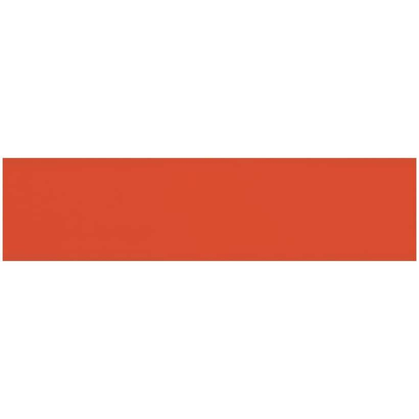 """CENTURA:Rainbow Collection 4"""" x 16"""" Ceramic Wall Tiles - Matte Spice, 10.81 sq. ft."""