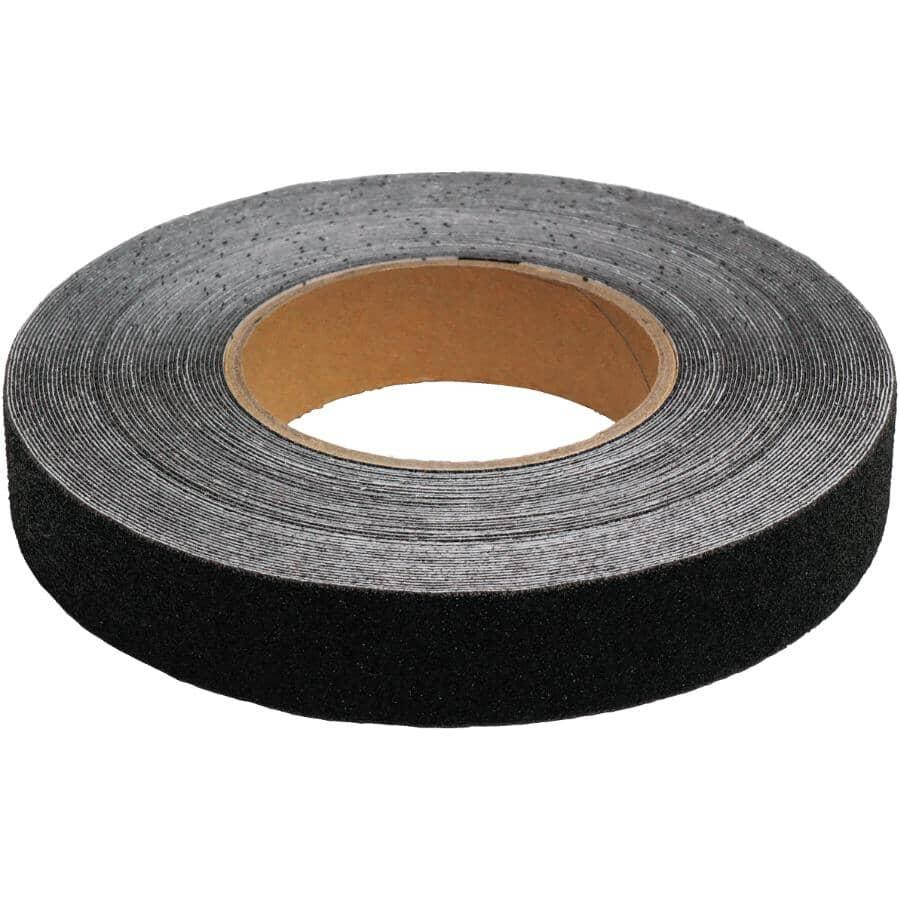 """LIFESAFE:Gator Grip Safety Grit Tape - Black, 1"""" x 60'"""