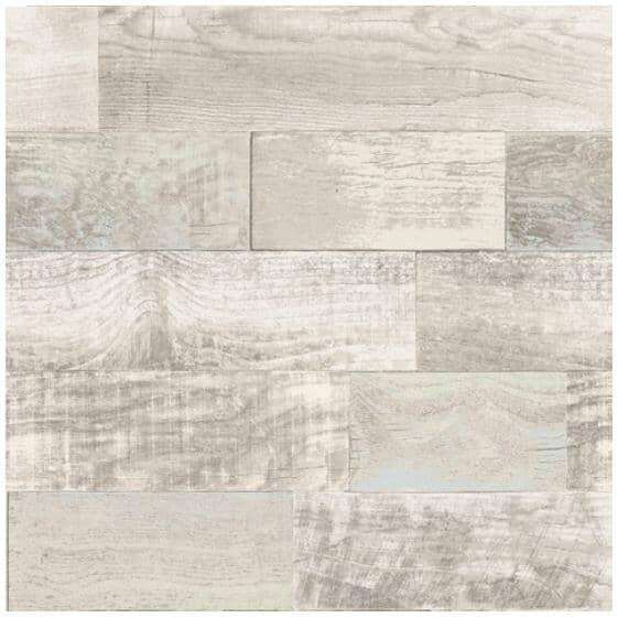 "WALLPOPS:Salvaged Plank Peel & Stick Wallpaper - 20.5"" x 18'"