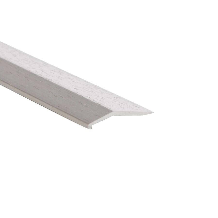 """SHUR-TRIM:1"""" x 3' Hammered Titanium Equalizer Edging"""