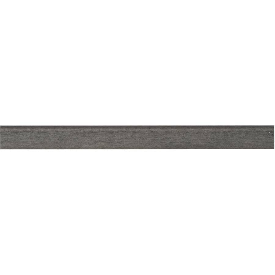 """GOODFELLOW:94"""" Whiskey Mystic SPC Stair Nose Moulding"""