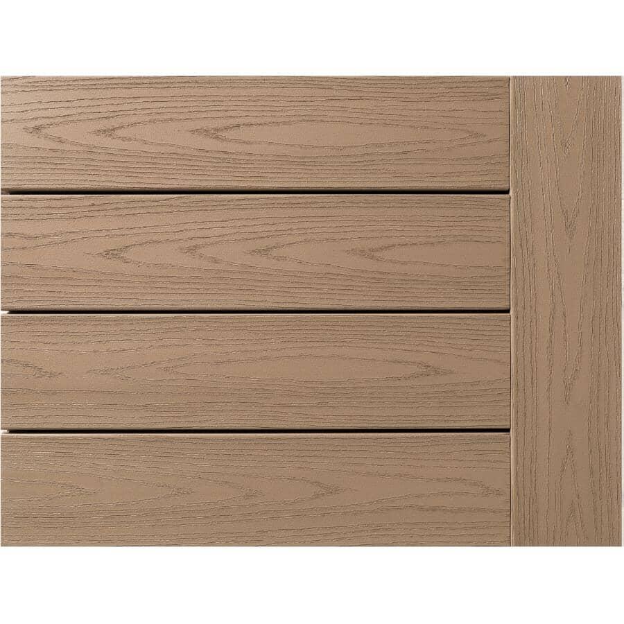 "AZEK:1"" x 5-1/2"" x 16' Harvest Square Edge Brownstone Deck Board"