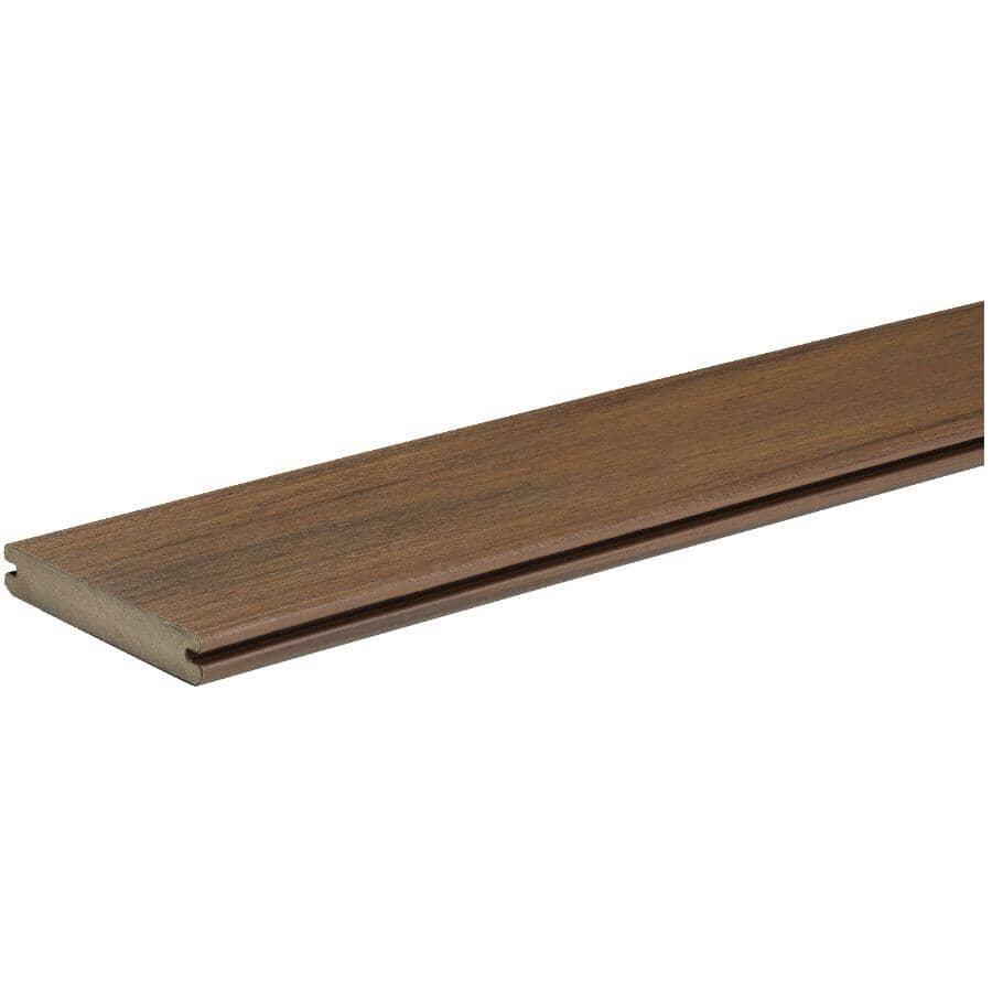 TIMBERTECH:Planche de terrasse Legacy de 1 po x 5-1/2 po x 16 pi avec rebord embouveté, pacanier