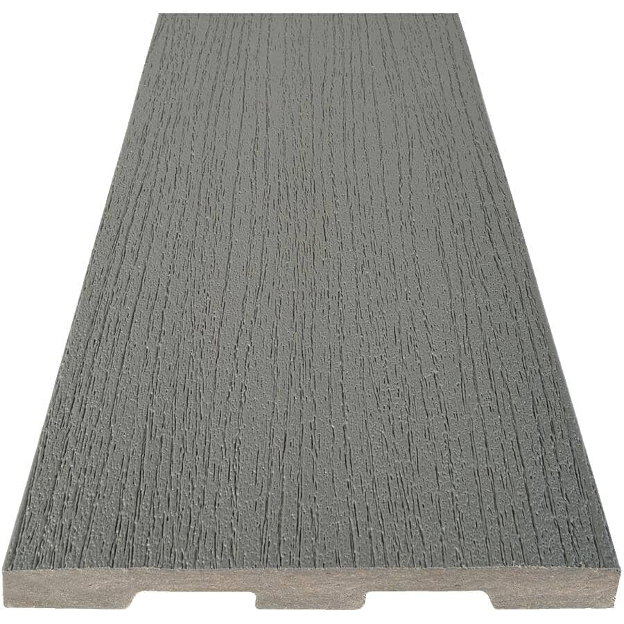 "TIMBERTECH:1"" x 5-1/2"" x 20' Edge Prime Maritime Grey Square Edge Deck Board"
