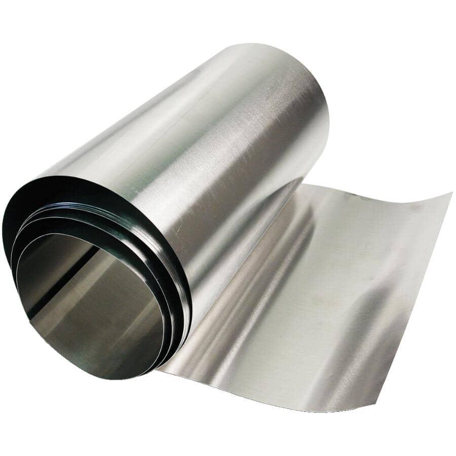 DUNDAS-JAFINE:Rouleau de solin en aluminium de calibre 29 de 20 po x 10 pi