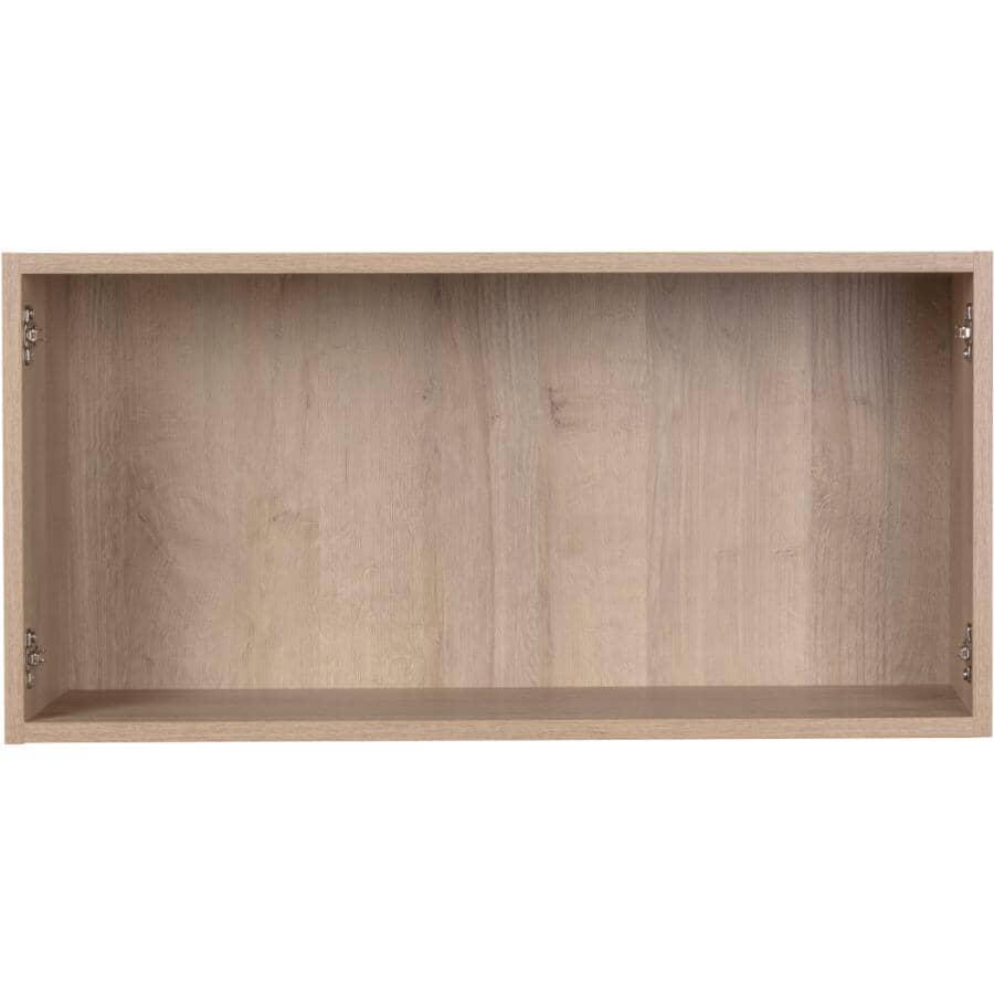 "CUTLER KITCHEN & BATH:Organic Knockdown Wall Bridge Cabinet - 33"" x 15"""