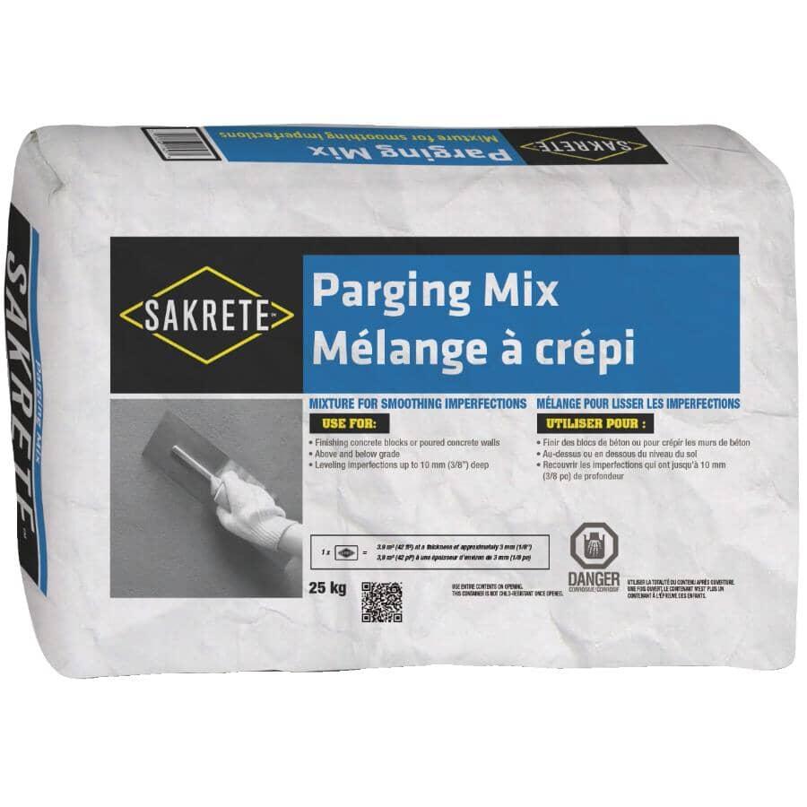 SAKRETE:Mélange pour ciment à crépi, 25 kg