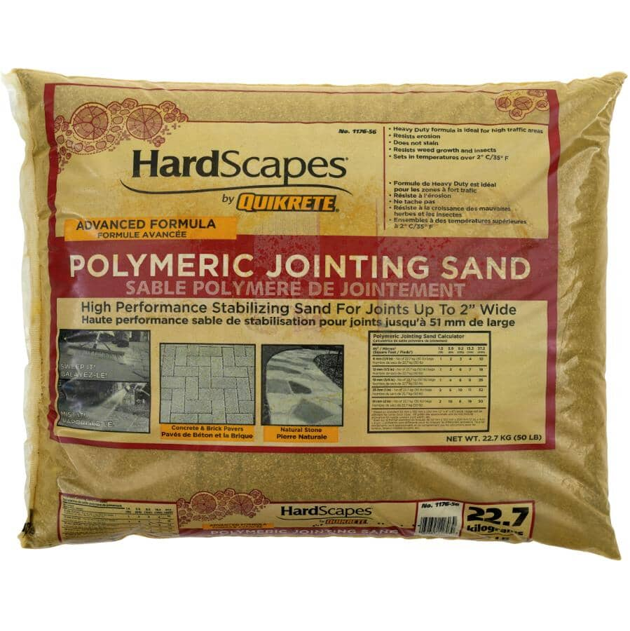 QUIKRETE:Polymeric Jointing Sand - 22.7 kg