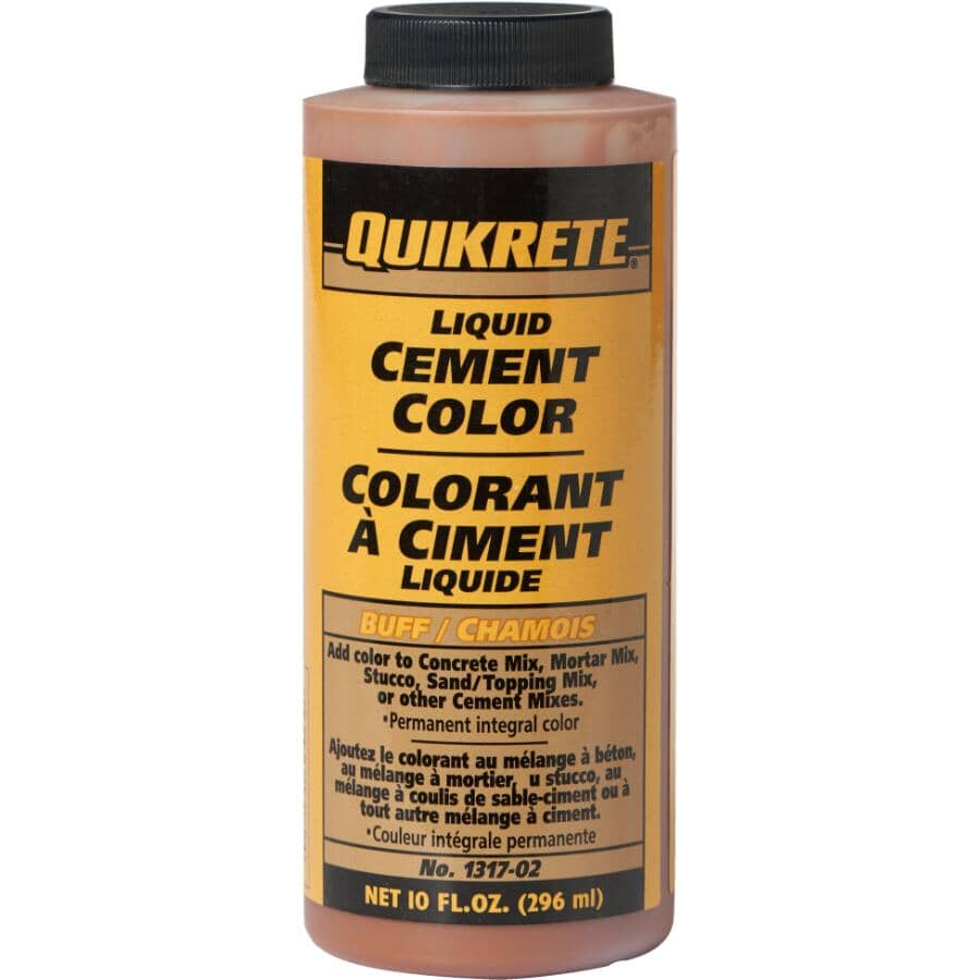 QUIKRETE:296mL Buff Liquid Cement Colouring