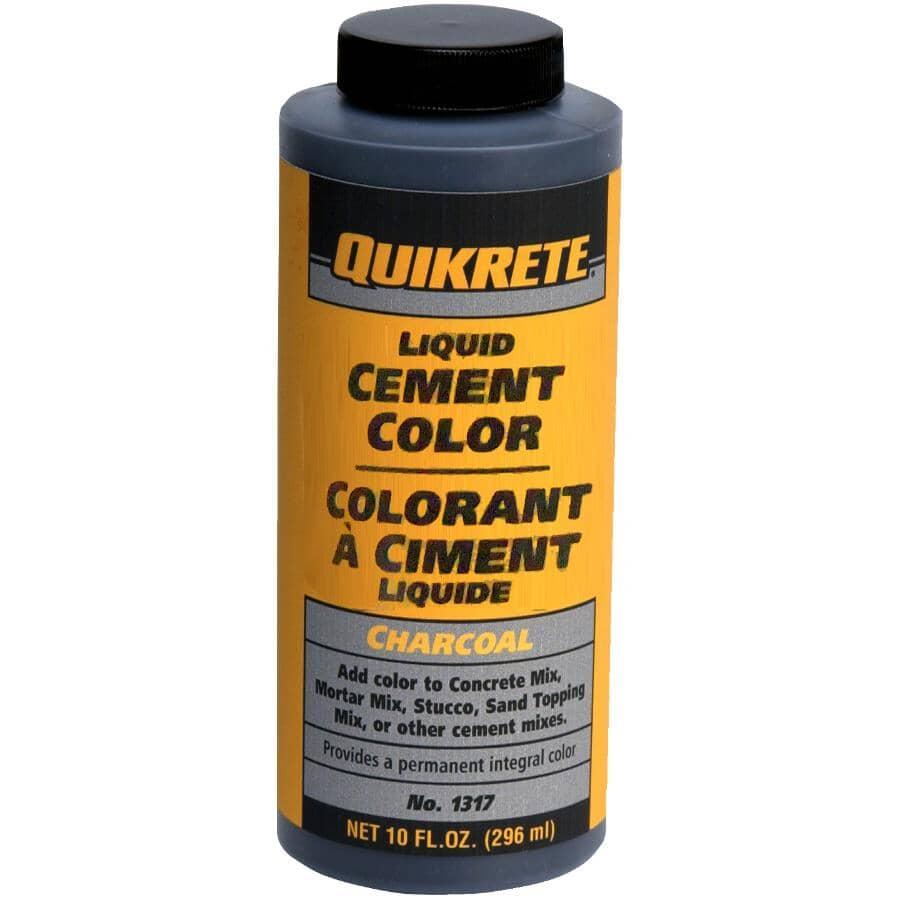 QUIKRETE:Colorant à ciment liquide, charbon, 296 ml