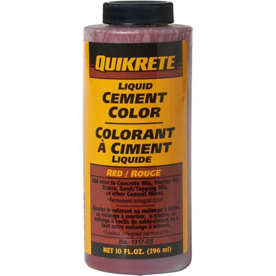 QUIKRETE:296mL Red Liquid Cement Colouring
