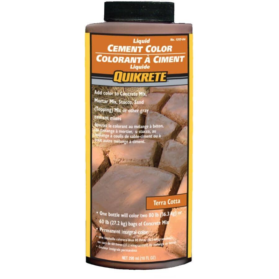 QUIKRETE:296mL Terra Cotta Liquid Cement Colouring