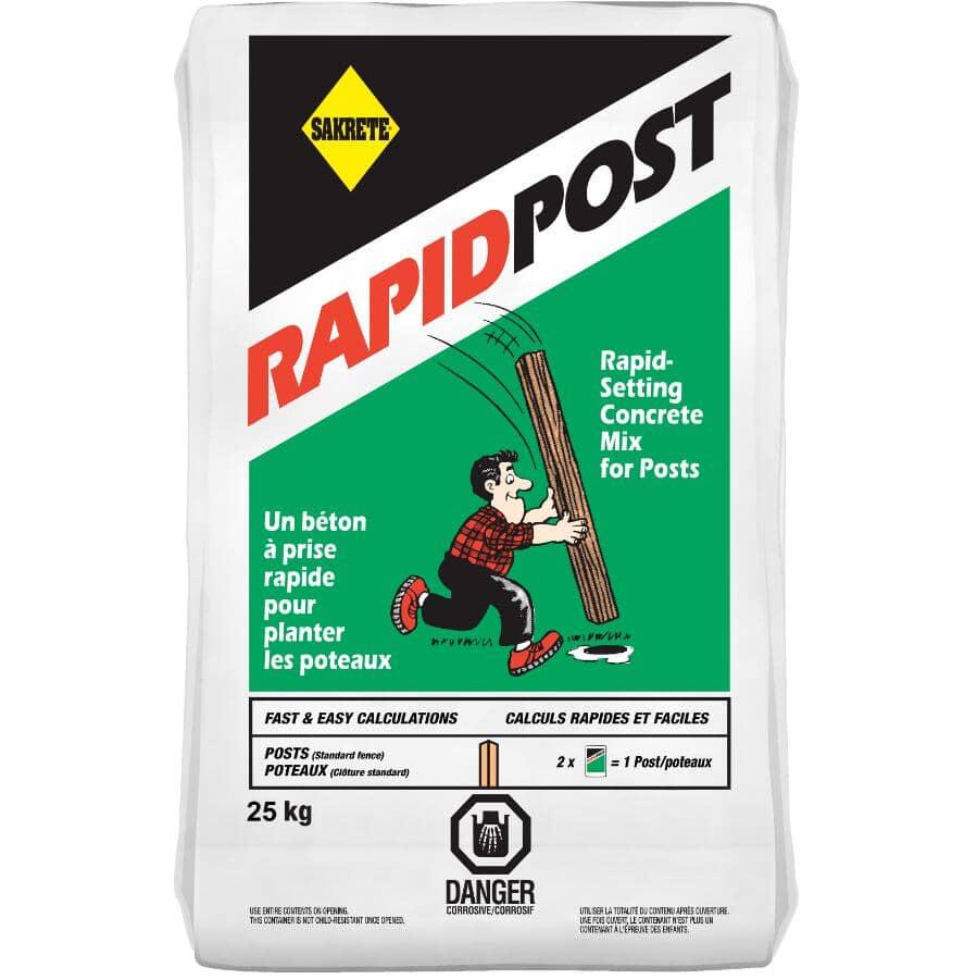SAKRETE:25kg Rapid Post Concrete Mix
