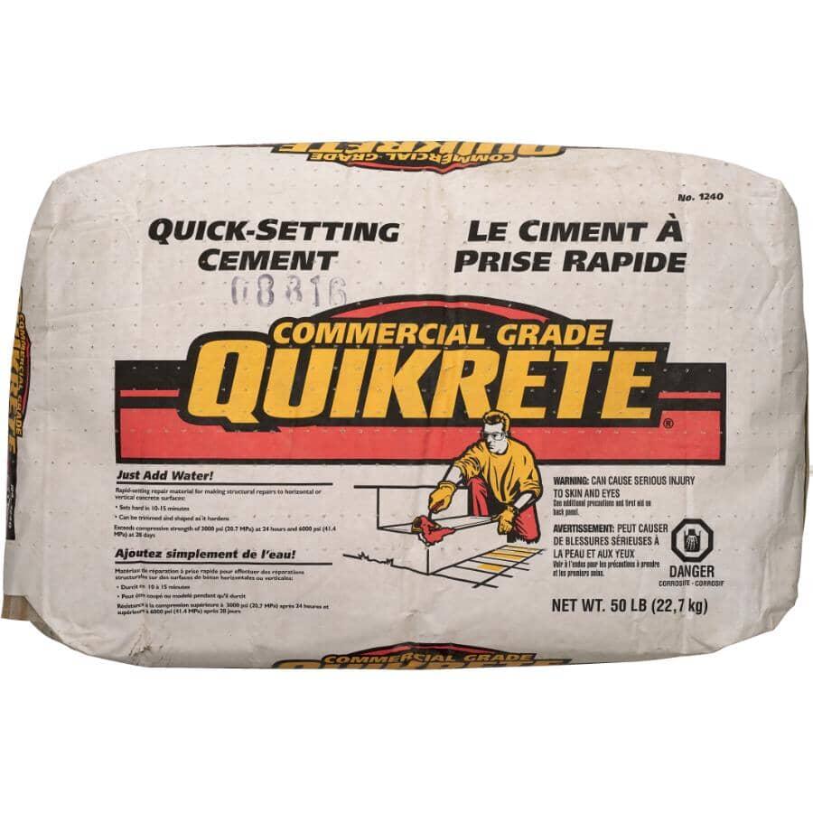 QUIKRETE:22.7kg Quick Set Cement