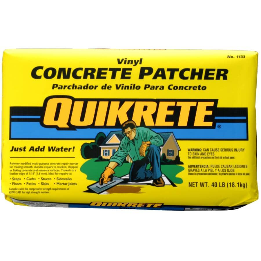 QUIKRETE:18.1kg Vinyl Concrete Patch