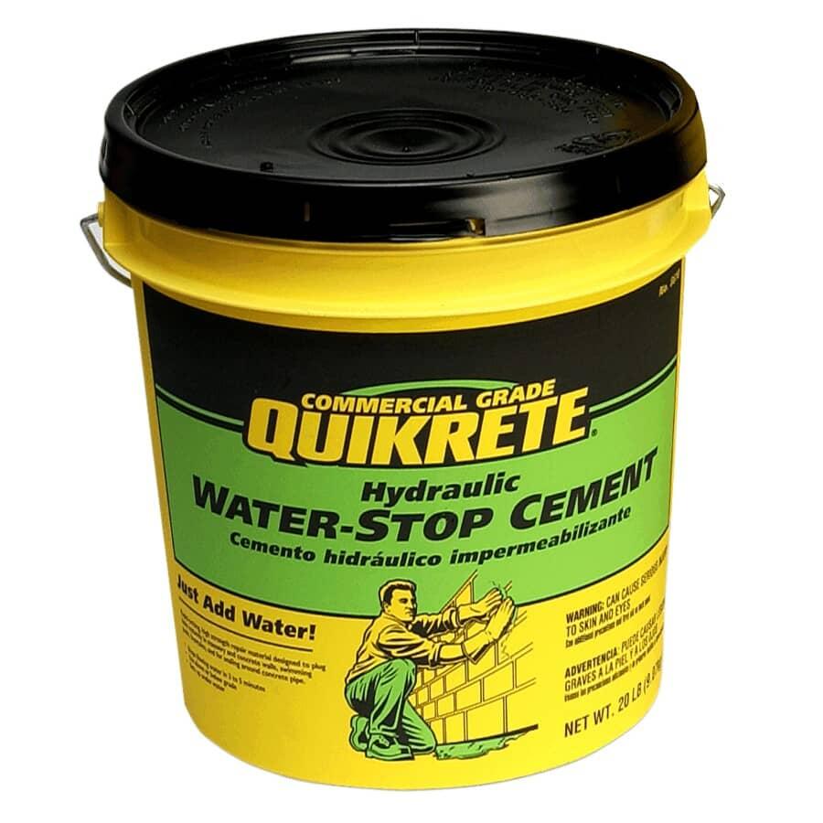 QUIKRETE:9kg Hydraulic Waterstop Cement