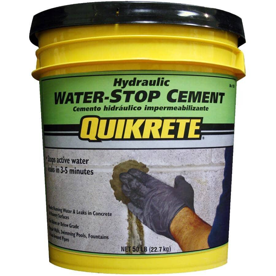 QUIKRETE:22.7kg Hydraulic Waterstop Cement